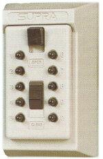 鍵番人壁付型(ボタン式)