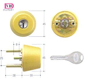 GOALTX(TTX)V18シリンダーDT31-34ゴールド色(2)