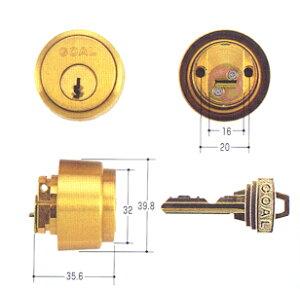 GOALAS/LX用シリンダー(ピンシリンダー)ゴールド色