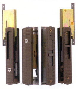 MIWA(YKK)引き違い戸錠3点セットKH311