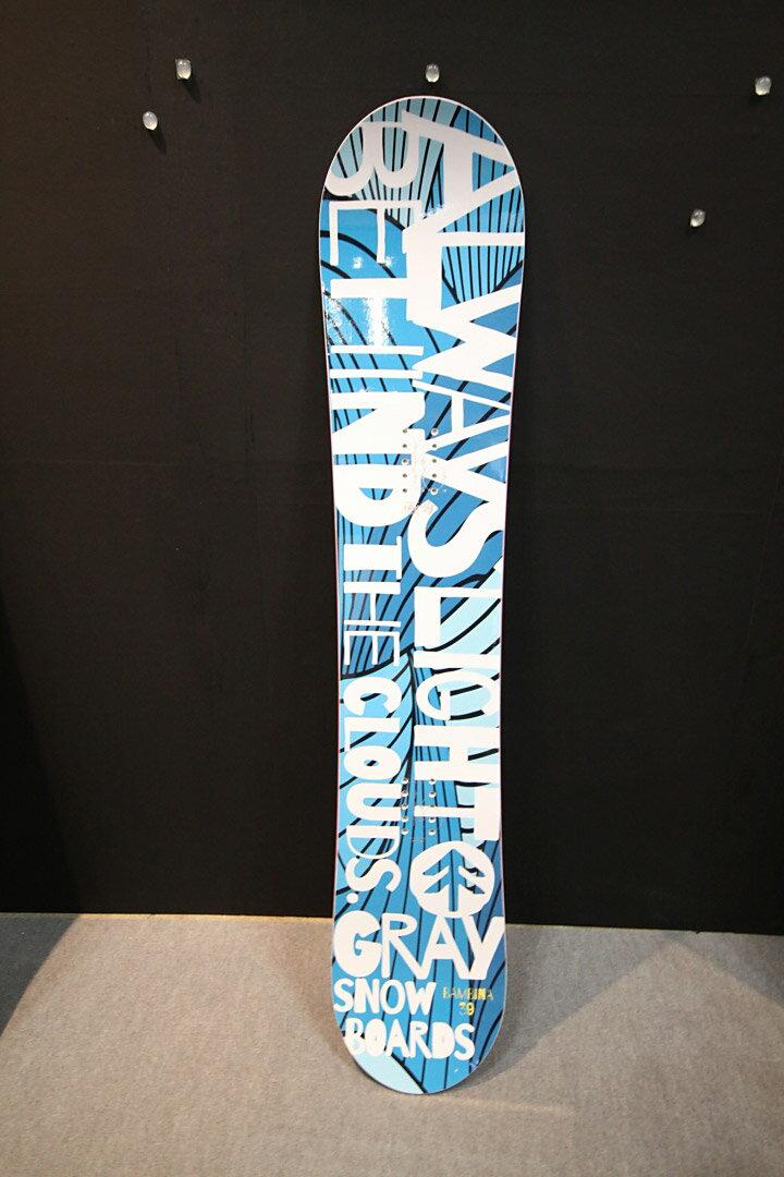 GRAY SNOWBOARDS [ BAMBINA @59400] グレイ スノーボード 安心の正規輸入品:ロコモショップ