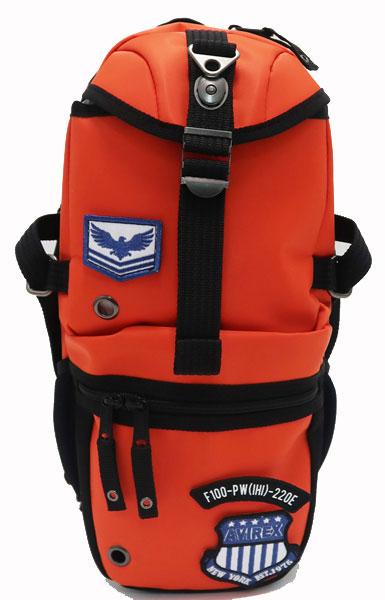 男女兼用バッグ, ボディバッグ・ウエストポーチ AVIREX EAGLE AVX305W ORANGE 9100 ( )