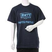 ゼット ZETT ジュニア 野球 半袖Tシャツ ネオスタイタスJr.ヨウ カモロゴTシャツ BOT1721J