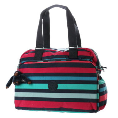 キプリング Kipling JULY BAG (Spicy Stripes)