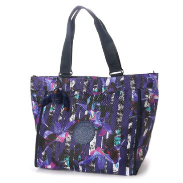 【アウトレット】キプリング Kipling NEW SHOPPER L (Urban Flower Bl)