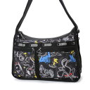 【アウトレット】レスポートサック LeSportsac DELUXE EVERYDAY BAG (CHALKBOARD SNOOPY)