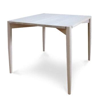 IDC OTSUKA/大塚家具 テーブル リュッケ 83 白木塗装 ブナ (ホワイトオーク)【返品不可商品】