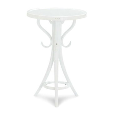 IDC OTSUKA/大塚家具 ティーテーブル(丸)T-110SW WH (ホワイト)【返品不可商品】