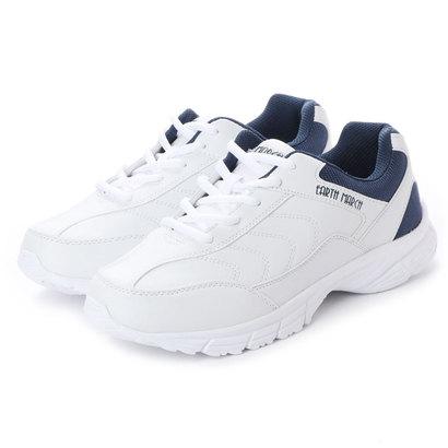 レディース靴, スニーカー  EARTH MARCH kp15539 WHITENAV