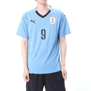 プーマ PUMA メンズ サッカー/フットサル ライセンスシャツ ウルグアイ ホーム レプリカ SSシャツ(9番 スアレス) 8339537068
