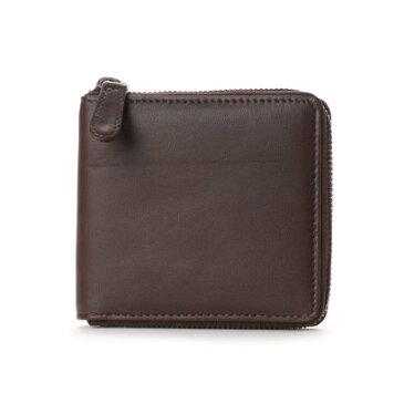 【アウトレット】アーバンリサーチ URBAN RESEARCH outlet ランドファスナー二つ折り財布 (ブラウン)