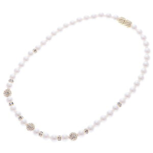 [Outlet] Genevivian Genet Vivien Magnet Pearl Necklace (Gold)