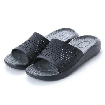 クロックス crocs クロッグサンダル LiteRide Clog 205183-0DD (ブラック)