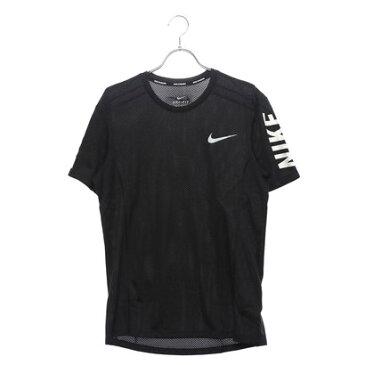 ナイキ NIKE メンズ 陸上/ランニング 半袖Tシャツ クール マイラー グラフィック トップ 928378010 (ブラック)