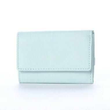 c2f0d4098c22 ... ランバン オン ブルー LANVIN en Bleu シャペル 3つ折りミニ財布 (ミント) ...