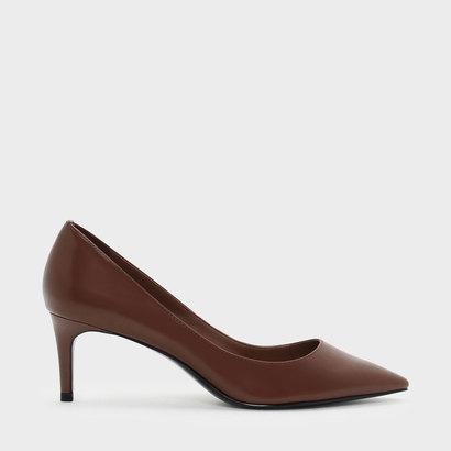 レディース靴, パンプス  CLASSIC LOW PUMPS Cognac