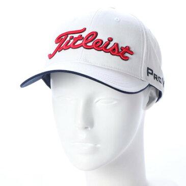 タイトリスト Titleist メンズ ゴルフ キャップ ツアーキャップ 8CTR HJ8CTR (ホワイト)