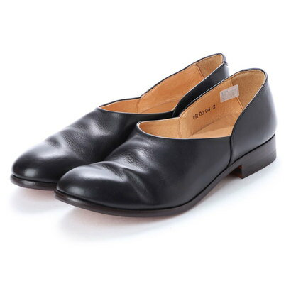 バレエシューズ, その他  DIGOUT CHET (Washed Side Slit Shoes) BLACK