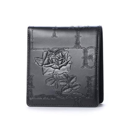 349924cfdb0c アルセラピィ artherapie フィセルローズ 二つ折り財布 (ブラック) 【】【交換·返品可能】/アルセラピィ/artherapie/財布 ·ケース·小物/2つ折り財布/ロコンド/