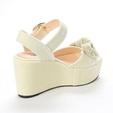 【アウトレット】ディガウト DIGOUT OLIVIA (Platform Sandals) (WHITE)