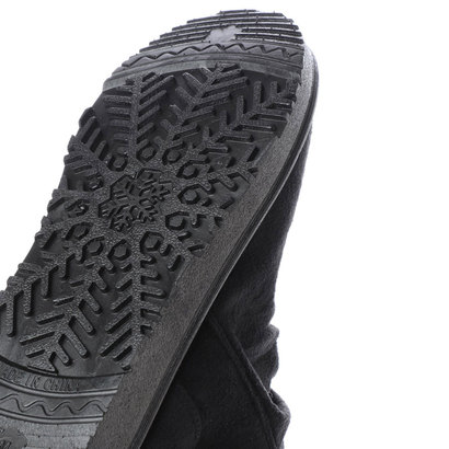 スタイルブロック STYLEBLOCK サイドジッパー付きムートンブーツ (ブラック)