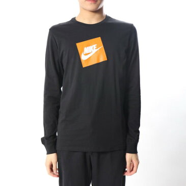 ナイキ NIKE メンズ 長袖Tシャツ フューチュラ ボックス HBR L/S Tシャツ AJ3874010
