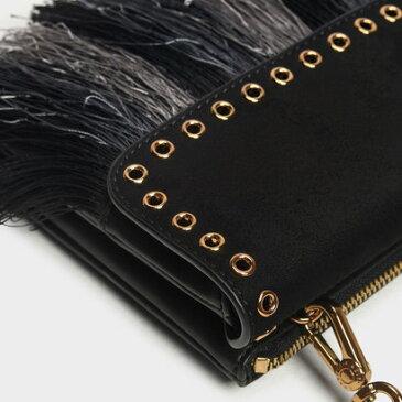 グロメットディテール ベルトバッグ / Grommet Detail Belt Bag (Black)