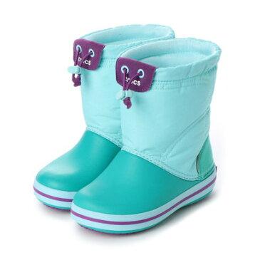 クロックス crocs ジュニア ロングブーツ crocband lodgepoint boot kids 203509 4415