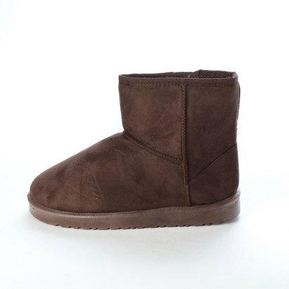 SFW サンエープラスフェミニン AAA+ feminine ふわっふわのボアが暖かくて快適な履き心地♪軽くて歩きやすいムートンブーツ/3519 (ダークブラウン)