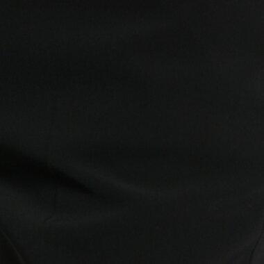 インディヴィ INDIVI クロストレッチパンツ (ブラック)