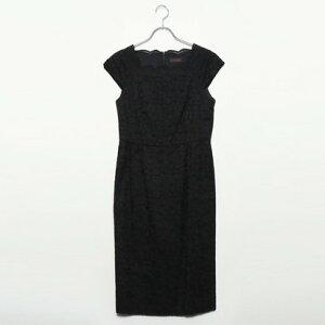 [المخرج] Genevivian Genet Vivien فستان بأكمام فرنسية (أسود)
