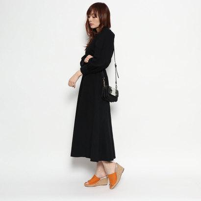 【EVOL】ILIMAジュートウエッジサンダル IM7904 (オレンジスエード)