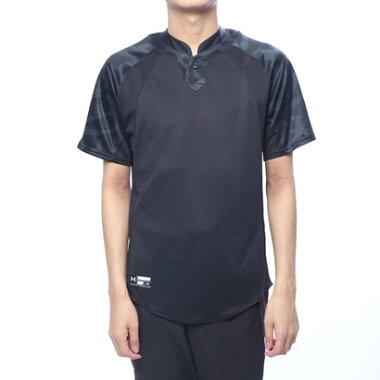 【アウトレット】アンダーアーマー UNDER ARMOUR メンズ 野球 半袖Tシャツ UA Stand Collar Baseball Shirt 1331504