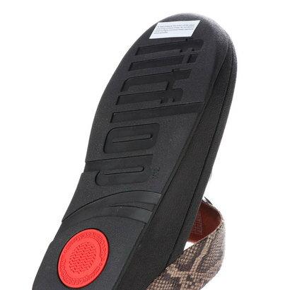 【アウトレット】フィットフロップ FitFlop HALO TOE THONG SANDALS (Taupe Snake)