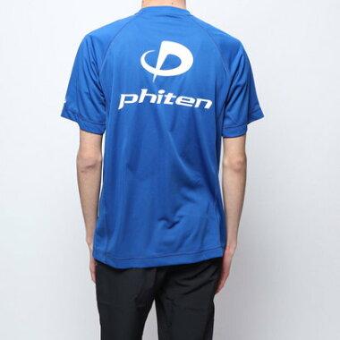 ファイテン Phiten バレーボール 半袖Tシャツ RAKUシャツSPORTS(吸汗速乾)半袖 JG174003