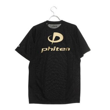 ファイテン Phiten バレーボール 半袖Tシャツ RAKUシャツSPORTS(吸汗速乾)半袖 JG167203