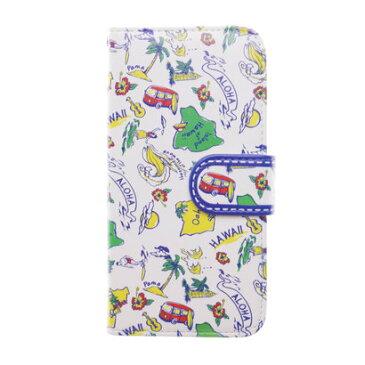 【kahiko】手帳型iPhone7用スマホケース Hawaiian その他1