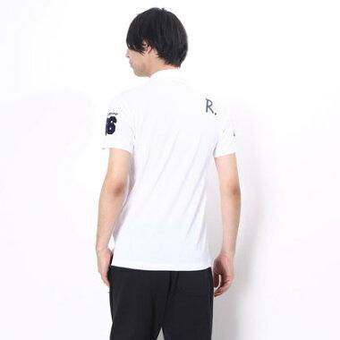 マンシングウェア Munsingwear ゴルフシャツ 半袖シヤツ(ニツト) RM1593 (ホワイト)