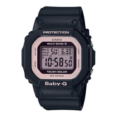 【BABY-G】BGD-5000シリーズ / 電波ソーラー / BGD-5000-1BJF (ブラック×ピンク)