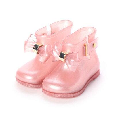 靴, レインシューズ・長靴  melissa Mini Melissa Sugar Rain Princess PINK