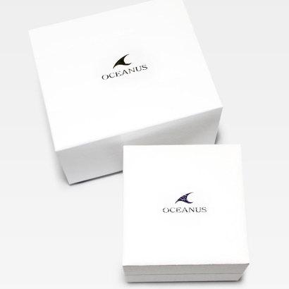 【OCEANUS】3 Hands Models / 電波ソーラー / OCW-70PJ-7A2JF (シルバー×ピンクゴールド)