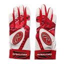 ローリングス Rawlings 野球 バッティング用手袋 両手用 バッティンググラブ ジュニア 5150AP3-RD J00633628