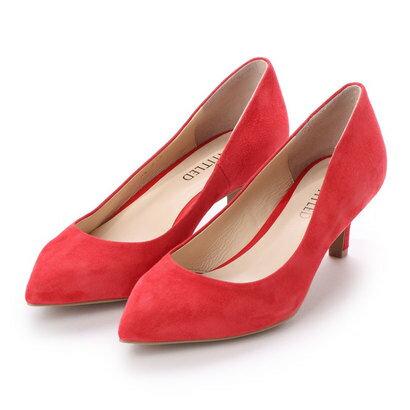 【アウトレット】アンタイトル シューズ UNTITLED shoes ポインテッドパンプス (レッドスエード)