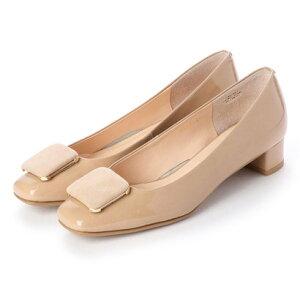 【アウトレット】アンタイトル シューズ UNTITLED shoes パンプス (ライトベージュエナメル)