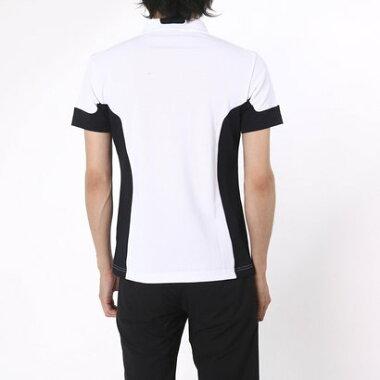 デサントゴルフ DESCENTE GOLF ゴルフシャツ 半袖ニットシャツ DGM1626S (ブライトホワイト)