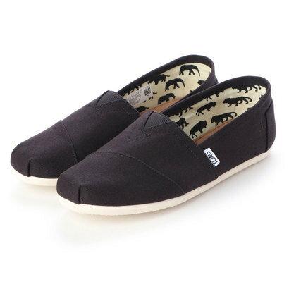メンズ靴, スリッポン  TOMS BLACK