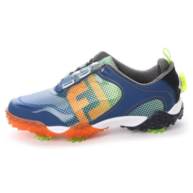 フットジョイ FootJoy ゴルフシューズ 16 フリースタイルボア NV/OR/LI 57339W245 99 (ネイビー×オレンジ)