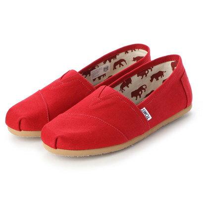 メンズ靴, スリッポン  TOMS RED