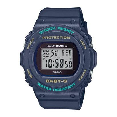 【BABY-G】BGD-5700シリーズ / 電波ソーラー / BGD-5700-2JF (ネイビー)