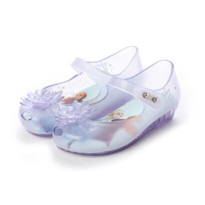 靴, その他  melissa MINI MELISSA ULTRAGIRL FROZEN BB GLASS GLITTERBLUE